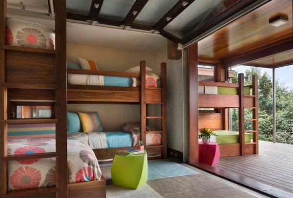 indoor outdoor bunk bed inspiration