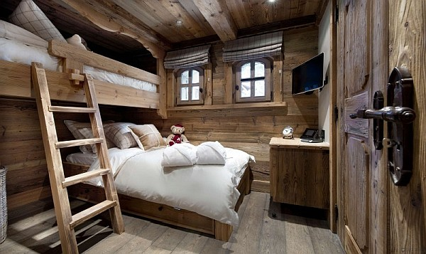 rustic cabin bunk bed ideas