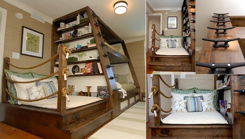 nautical bunk bed theme idea