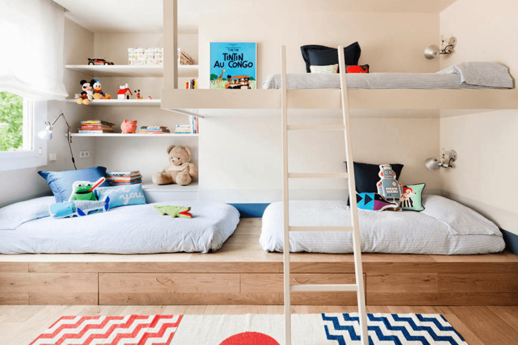 sharing-room-bunkbed