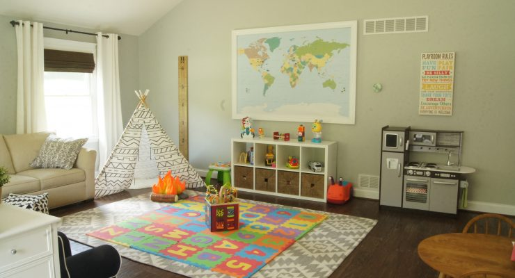 Designing for Multi-Tasking: Combining Office and Playroom
